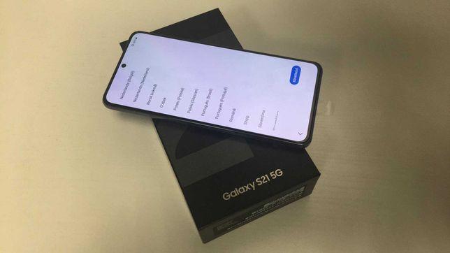 Nieużywany Samsung Galaxy S21 5G 8/256GB komplet