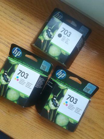 Tusz do drukarki HP 703 kolor, czarny cena za 3 tusze
