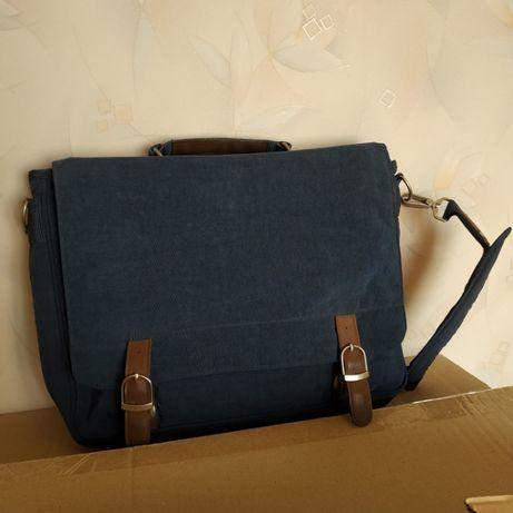 Мужская сумка портфель папка а4 крилкин