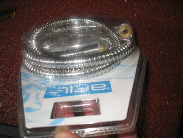 Vendo tubo aço flexível para chuveiro 1,75M Novo - Marca AFIL embalado