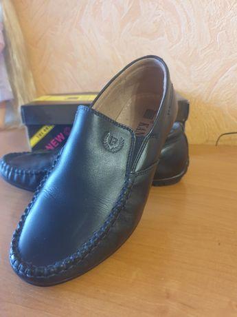 Туфли кожанные 33р