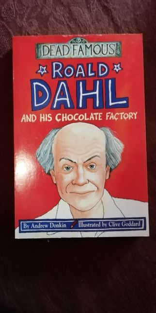""" Roald Dahl and his chocolate factory"""