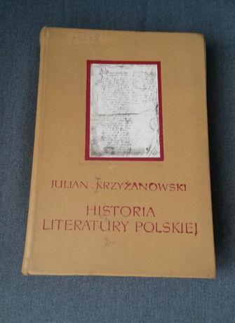 Historia Literatury Polskiej - Julian Krzyżanowski
