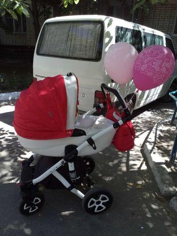 Продам детскую коляску универсальная 2в1 Adamex Barletta