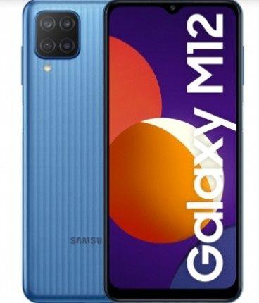 Samsung M12 novo ainda por estrear com película de vidro mais capa