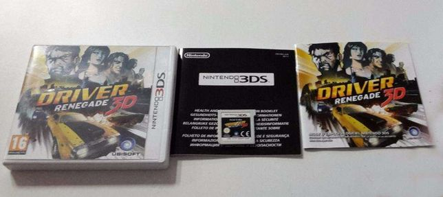 Driver Renegade 3D - Nintendo 3DS