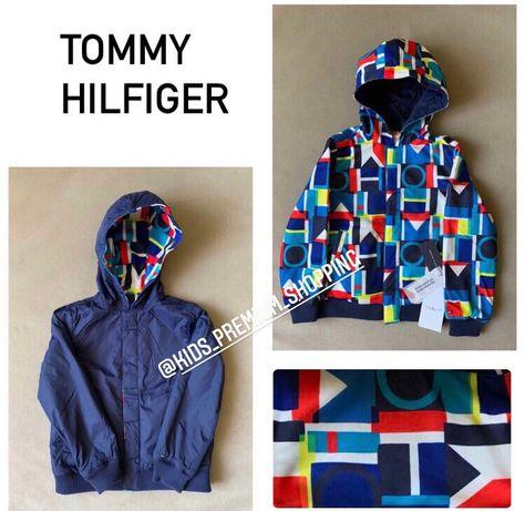 Двостороння куртка Tommy Hilfiger 6-7 років