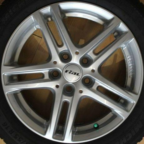 Koła aluminiowe lato audi seat skoda vw mercedes bmw 215/60R16 wysyłka