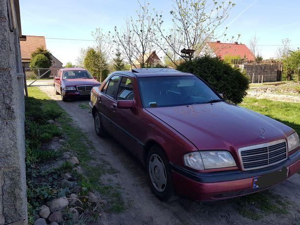 Mercedes W202 na części. Silnik 1.8 benzyna.
