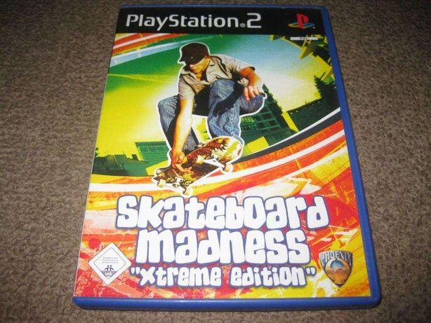 "Jogo Skateboard Madness ""Extreme Edition"" para a PS2/Completo!"