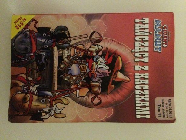 Komiks Gigant Giga Tańczący z kaczkami 512 stron