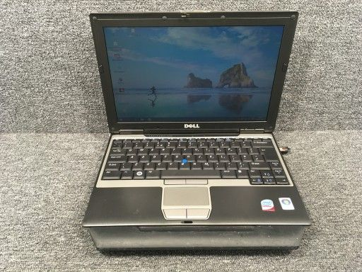 Laptop DELL D430 Bateria 3h + Stacja.Dok. Napęd RS232 Radom