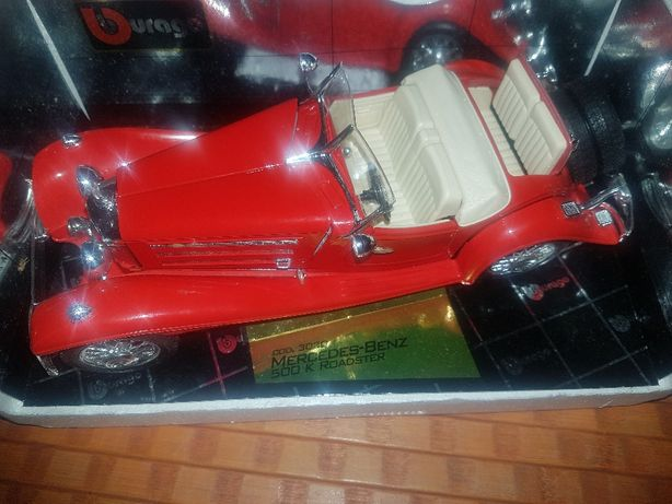 Burago Mercedes-Benz 500k roadster (1936) Escala 1/20