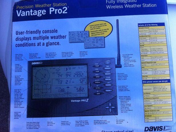 Метеостанция Vantage Pro 2 6152 Davis Insruments (США) - беспроводная