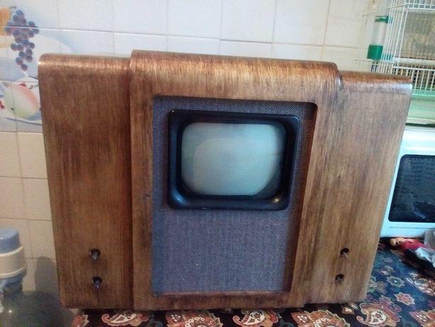 ламповий телевизор ретро квн 49 ссср робочий