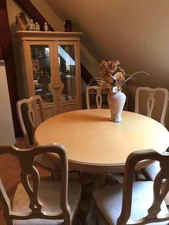komlpet stół krzesł komoda