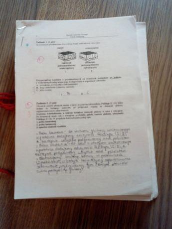 Arkusze maturalne biologia sprawdzane przez egzaminatora OKE