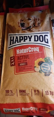 Karma dla psów HAPPY DOG Natur Croq Adult 15kg