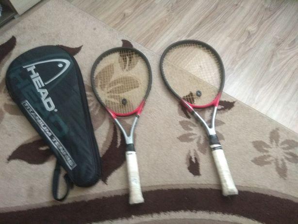 Sprzedam rakety tenisowe z pokrowcem