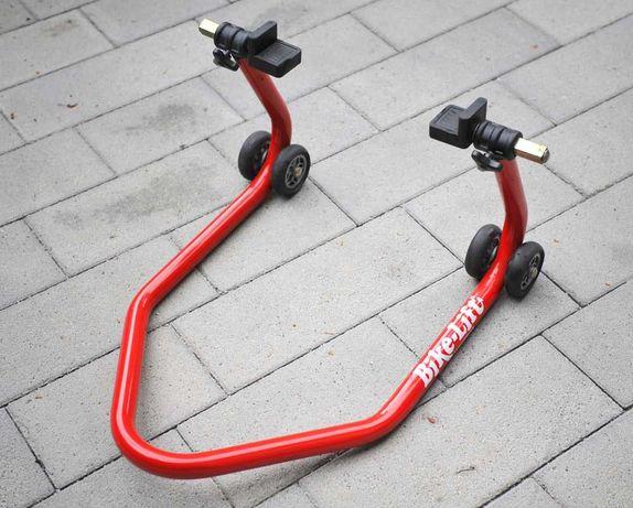 Podnośnik motocyklowy BikeLift + adaptery - tył