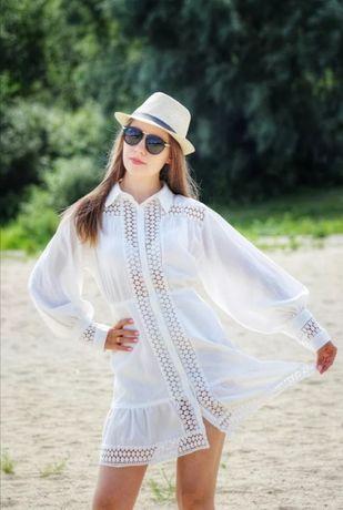 Новое Лёгкое летнее платье 100 % хлопок