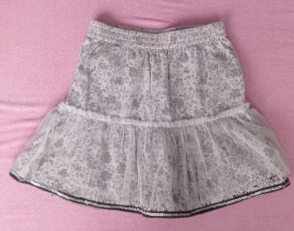 Spódnica spódniczka 86 tiul bawełna