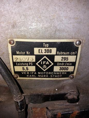 silnik stacjonarny IFA EL308 jak Dzik 2 ursus 308