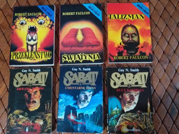 Książki horrory Faulcon i Smith