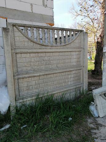 Забор секционий.