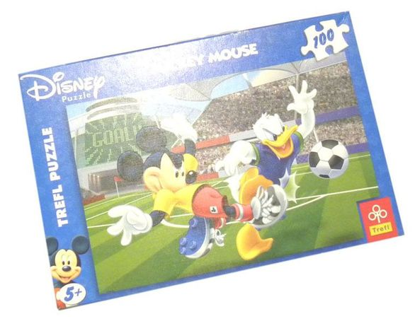 Puzzle 100 elementów MICKEY AND DONALD