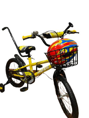 Rowerek Rower dziecięcy 16 BMX MDXG KASK PROWADNIK Kółka Wysyłka