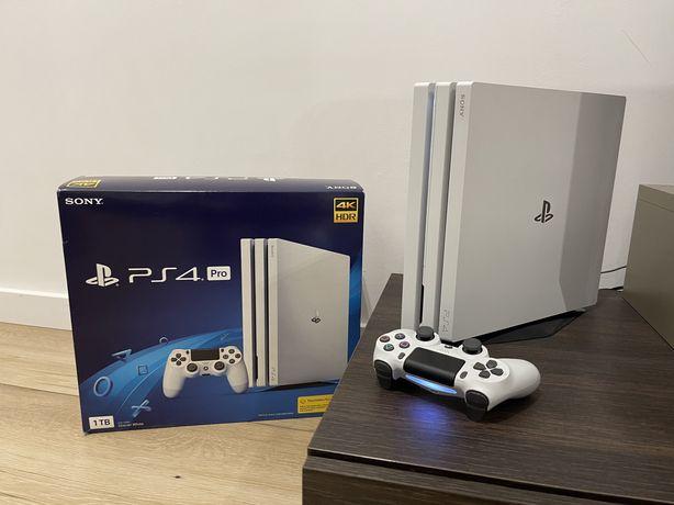 Limitowane PlayStation 4 PS4 Pro 7216b Glacier white biała gwarancja