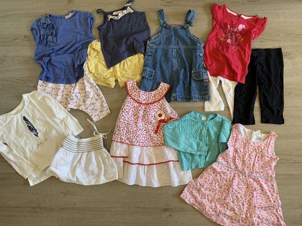 13 peças menina 2-3 anos