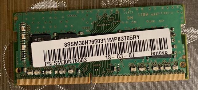 Pamiec Samsung RAM do laptopa 4 GB