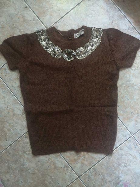Zara bluzeczka/sweterek M jak nowa