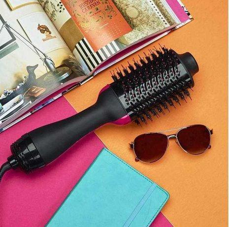 Стайлер фен расчёска для укладки волос щетка One Step 3в1, Качество!