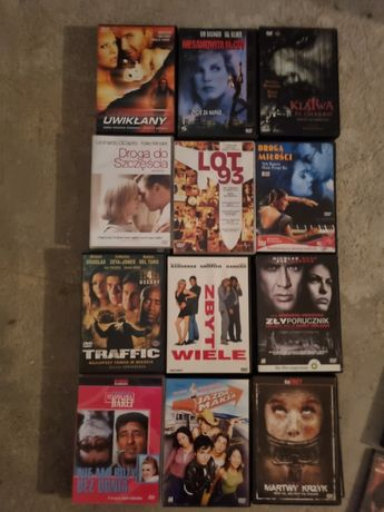 12szt filmów płyt DVD