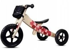 Rowerek drewniany sun baby twist 2w1 trójkołowy i biegowy