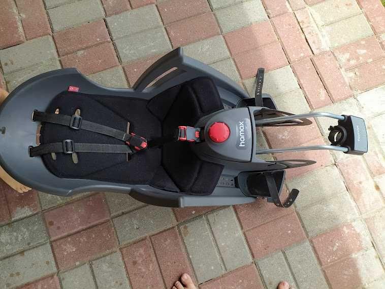Fotelik rowerowy fotelik rowerowy hamax siesta odchylany