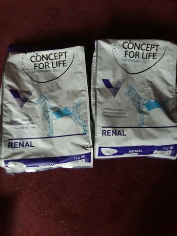 Concept for life renal dog 2x 1 kg