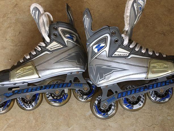 Продам хоккейные роликовые коньки