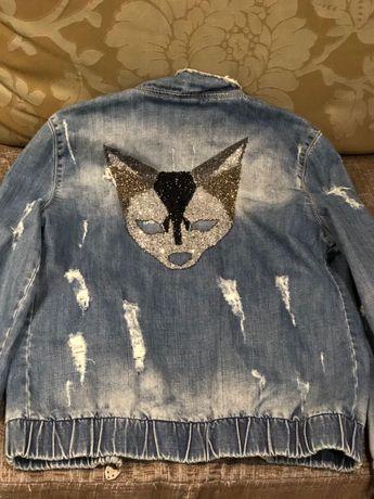 Джинсовая куртка, размер s