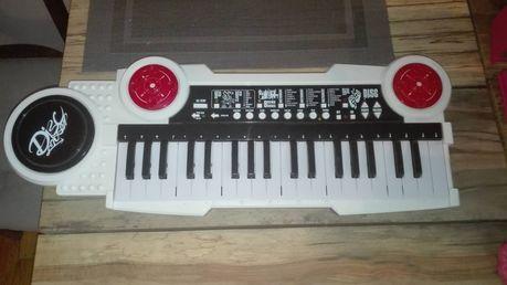 Keyboard organy pianino dla dzieci.