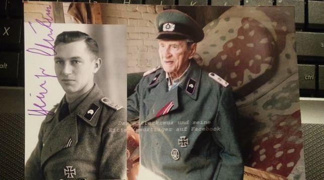 Panzerwaffe Heinz Kuhn niszczyciel czołgów podpis!