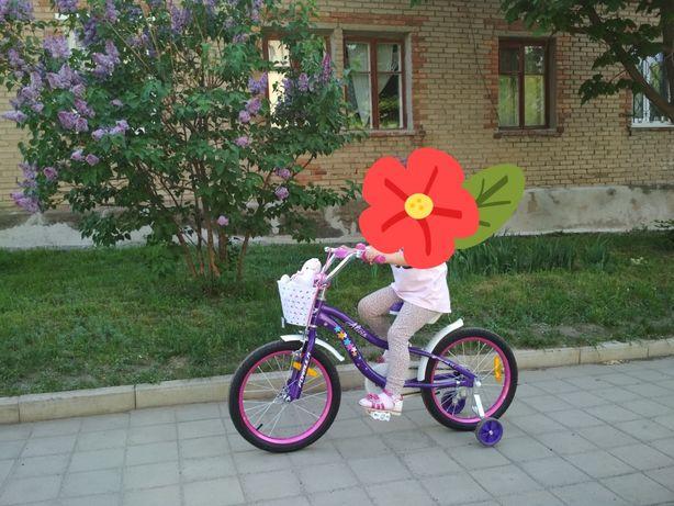 Детский велосипед, состояние нового