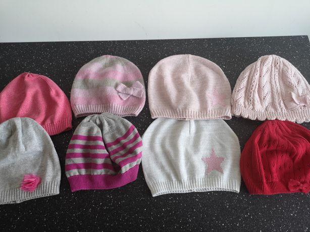 Nowe  i używane czapeczki na wiosnę obwód 48-52