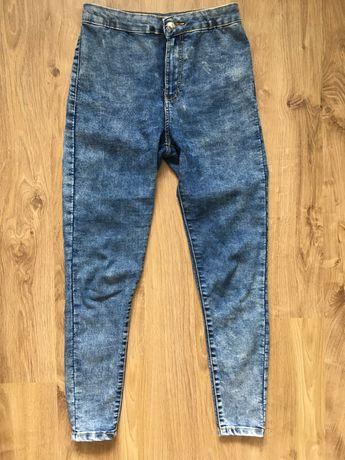 Jeansy Bershka r36 spodnie