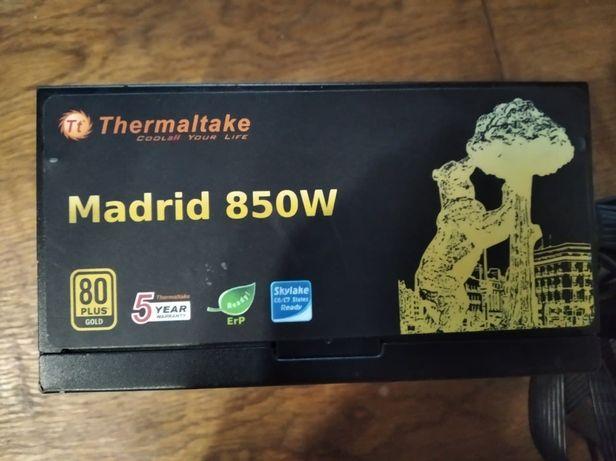 блок питания для пк thermaltake 850W 80 gold