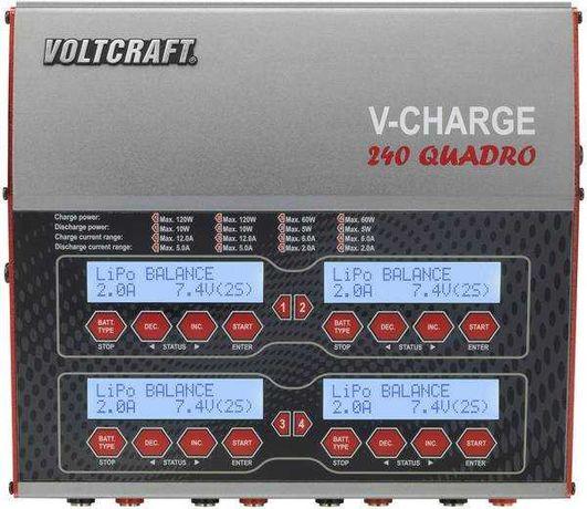 Ładowarka modelarska wielofunkcyjna VOLTCRAFT V-Charge 240 Quadro
