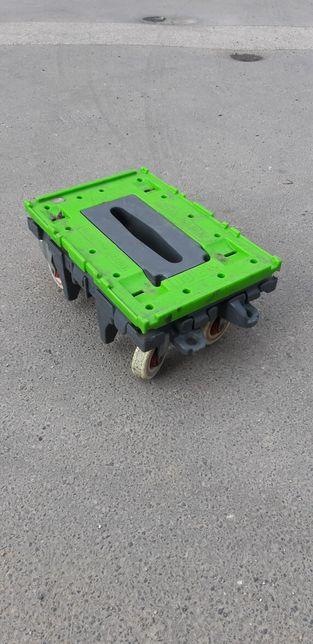 Wózek transportowy wózki transportowe magazynowe 60x40 euro 350kg